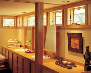 Andersen Simplicity Bathroom Windows