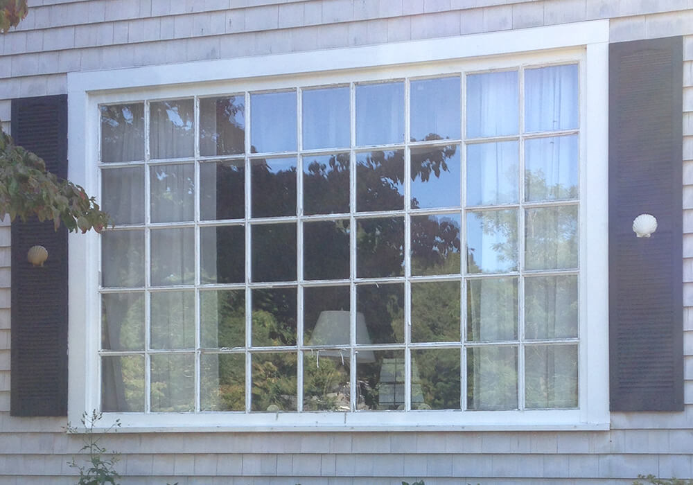 Barnstable window replacement - before