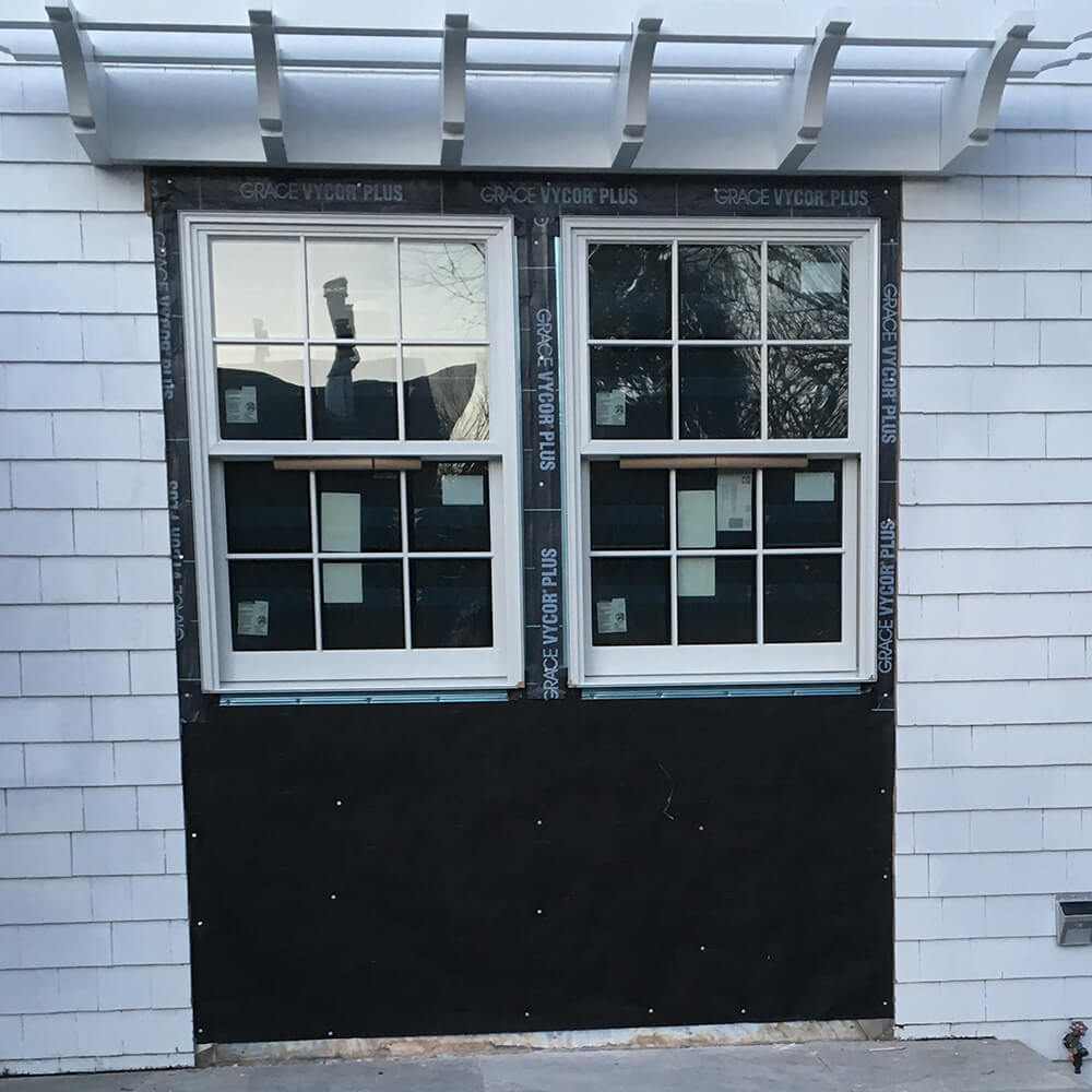 Chatham double hung window installation