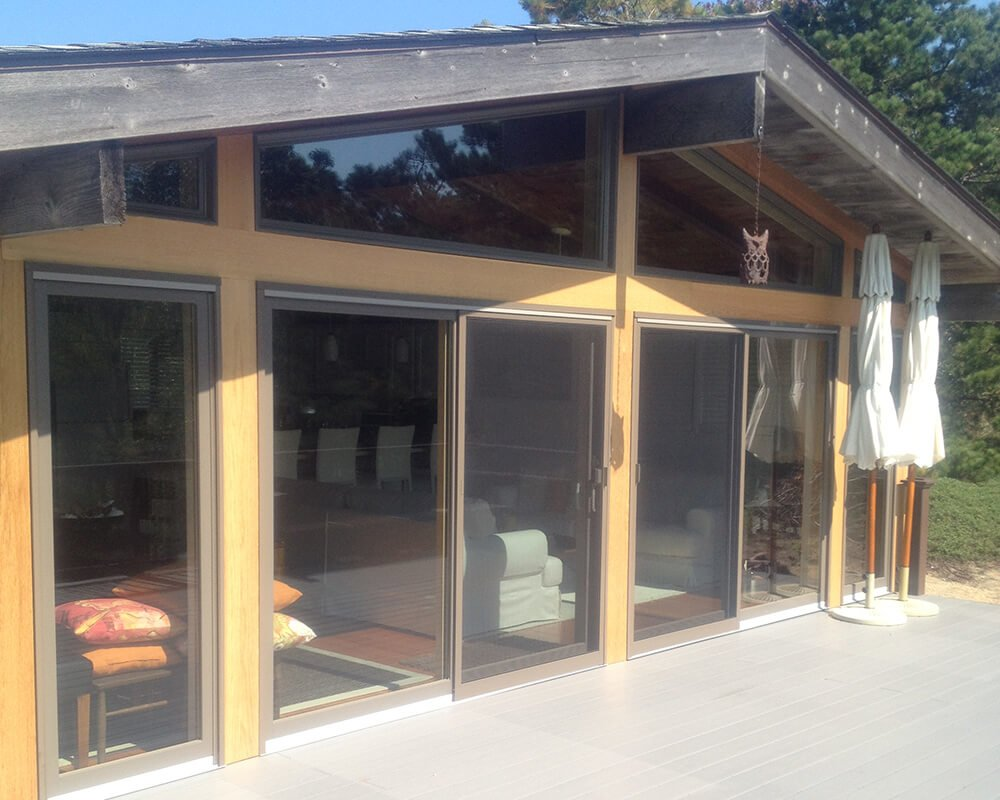 Chatham sliding doors and windows - done
