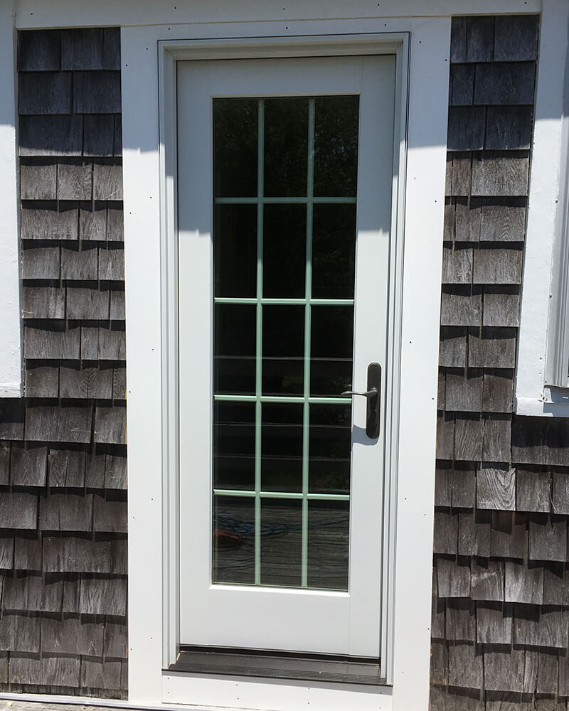 Orleans door replacement - exterior